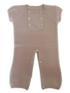 Baby Rib Cashmere Rompers for 6 Months Baby