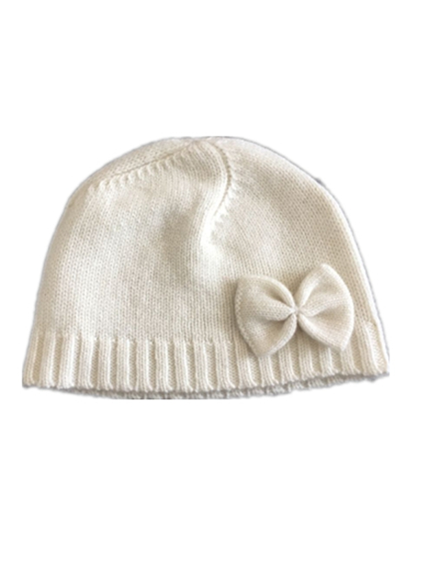 Baby Bowknot Cashmere Hats