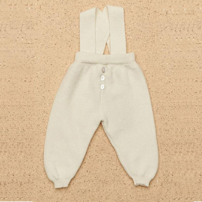 Baby Cashmere Winter Knitting Romper