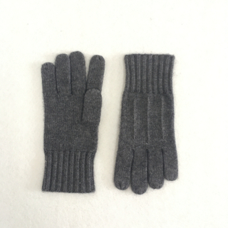 Cashmere Striped Gloves for Men