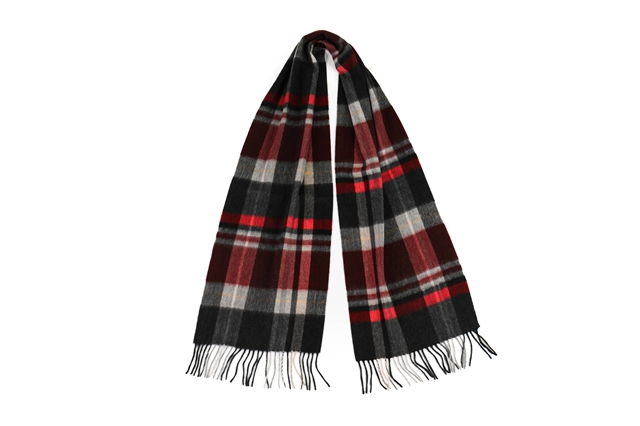 Scottish Plaid Cashmere Scarf