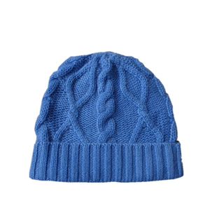 Cable Knitted Cashmere Beanie