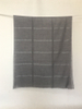 Water Soluble 100% Wool Plaid Scarf