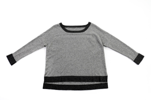 Casual Round Neck Cashmere Pullover