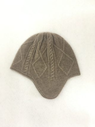 IMfield Natural Series, Aran Pattern Bomber Hat