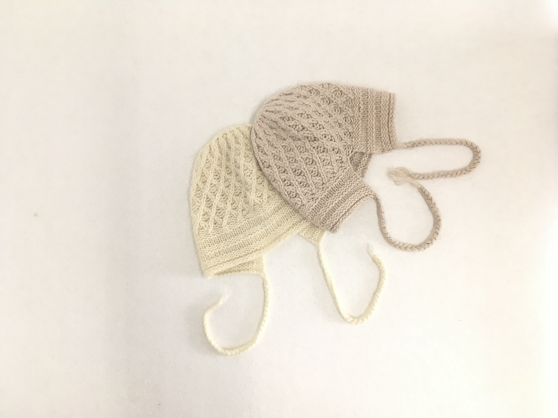 IMfield Natural Series, Hand Knitted Braid Beanie