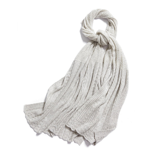 Hollow Out Knitted Cashmere Scarf