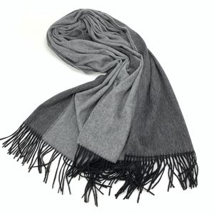 Double Side Solid Color Cashmere Shawl