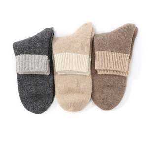 Lady Seamless Cashmere Socks