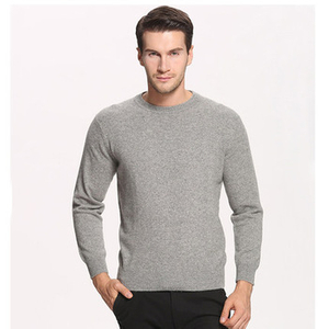 Men Crew Neck Cashmere Sweater