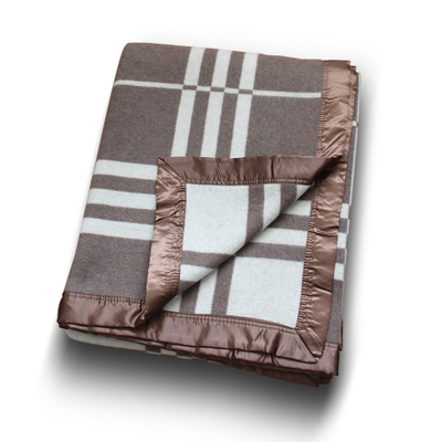 Twin Size Jacquard Cashmere Blanket