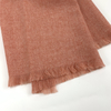 Cashmere Solid Color Shawls, Heather Pink