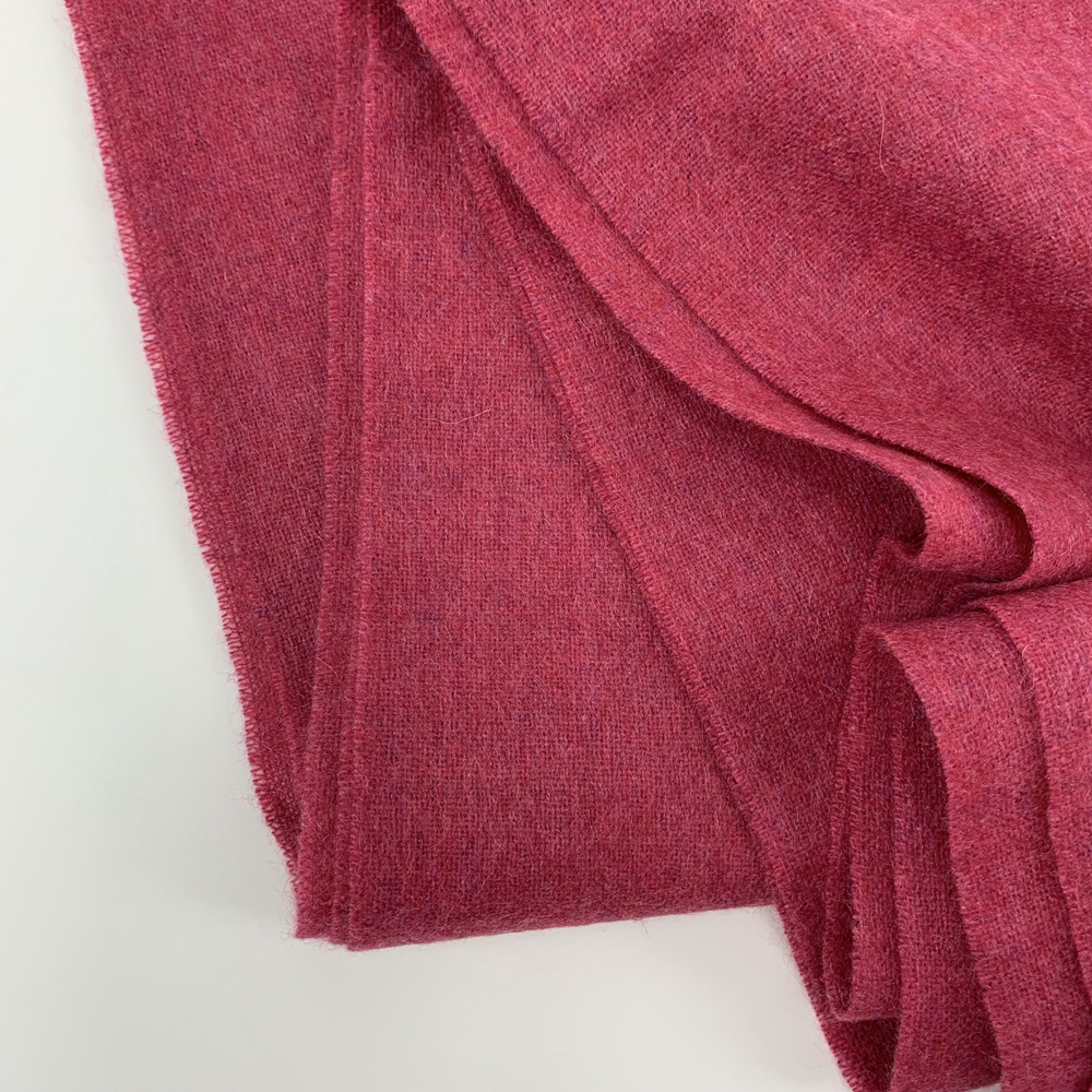 Cashmere Solid Color Shawls, Rose
