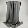 Cashmere Solid Color Shawls, Steel