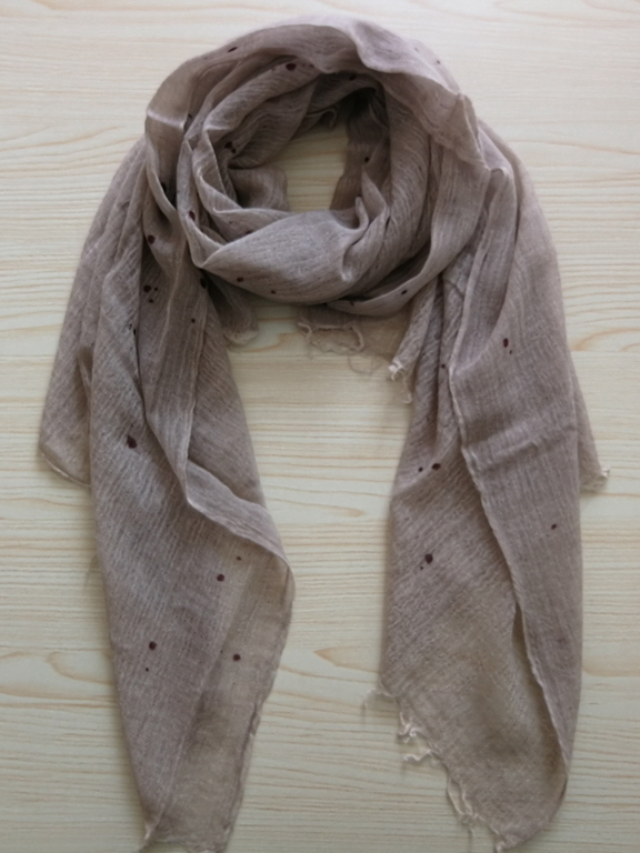 Cashmere Dotted Scarf